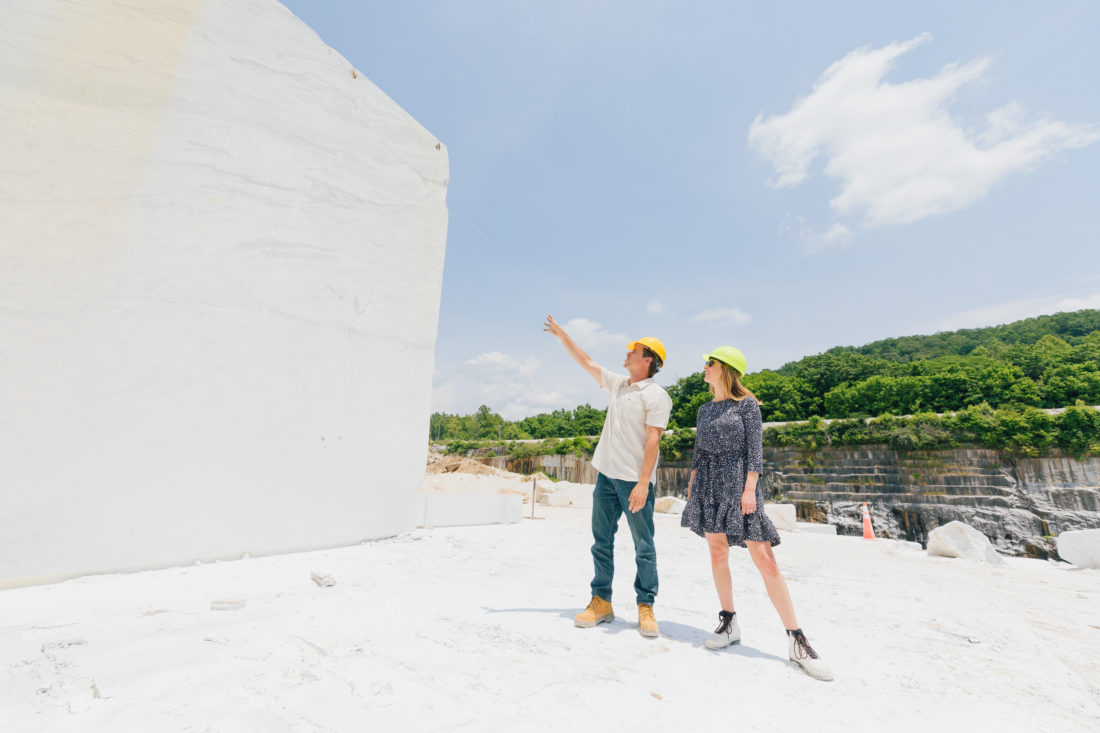 olycor - Happily Eva After - White Cherokee marble quarry