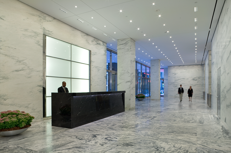 Polycor American Marble MdeAS Architects Dan Shannon 888 Seventh Avenue