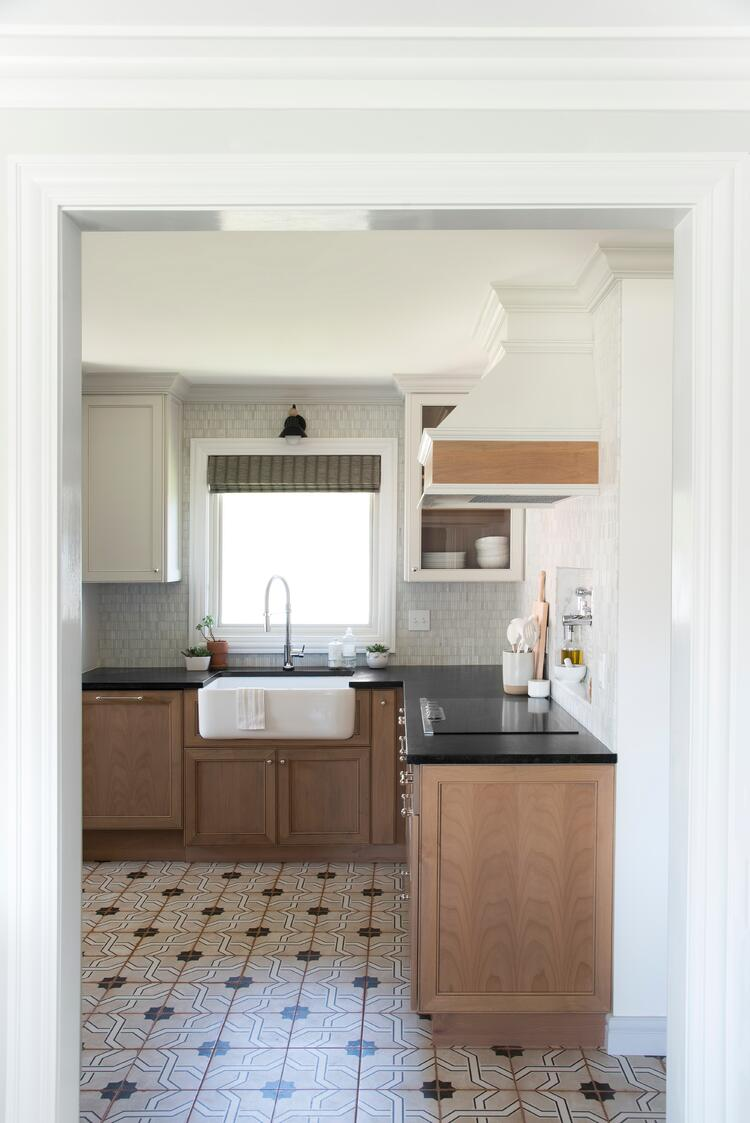 Room For Tuesday kitchen design soapstone