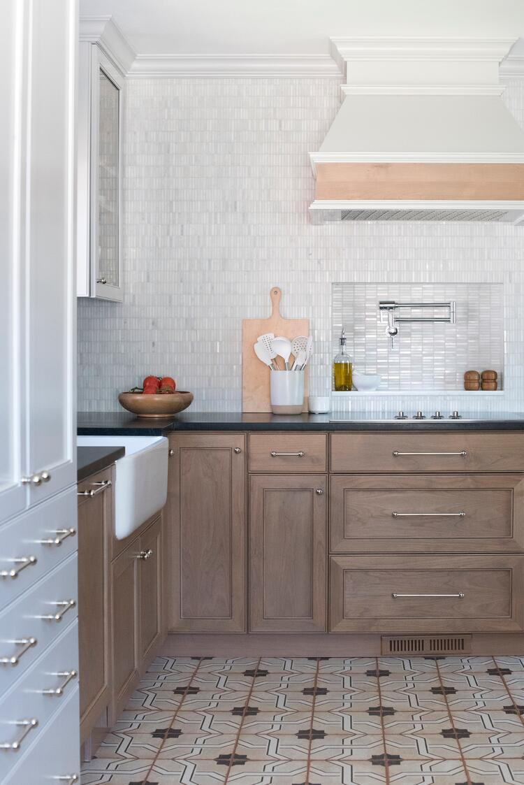 Room For Tuesday kitchen design soapstone counters