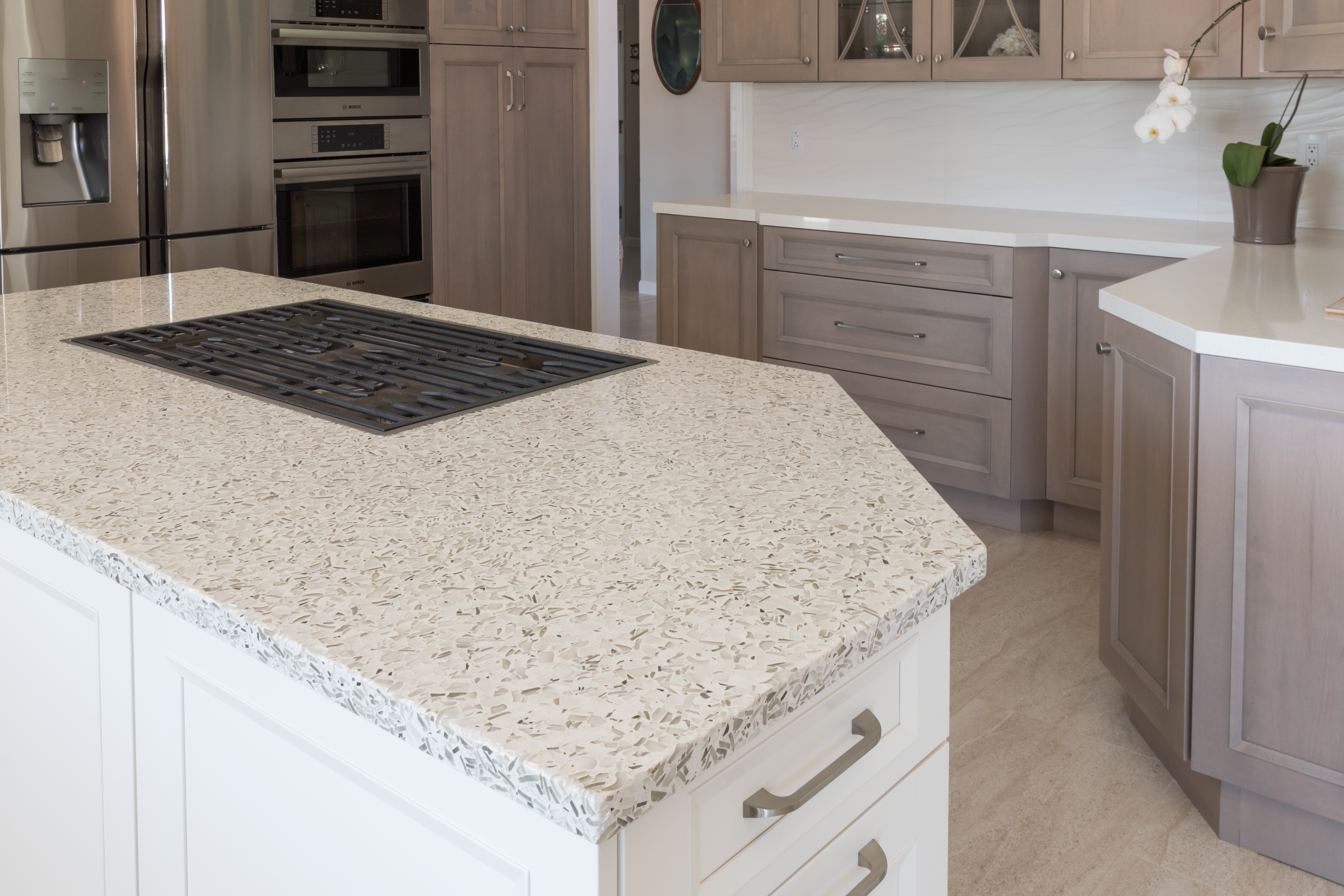 Vetrazzo-san-diego-martini-flint-kitchen-recycled-glass-countertops-pental-quartz-cashmere