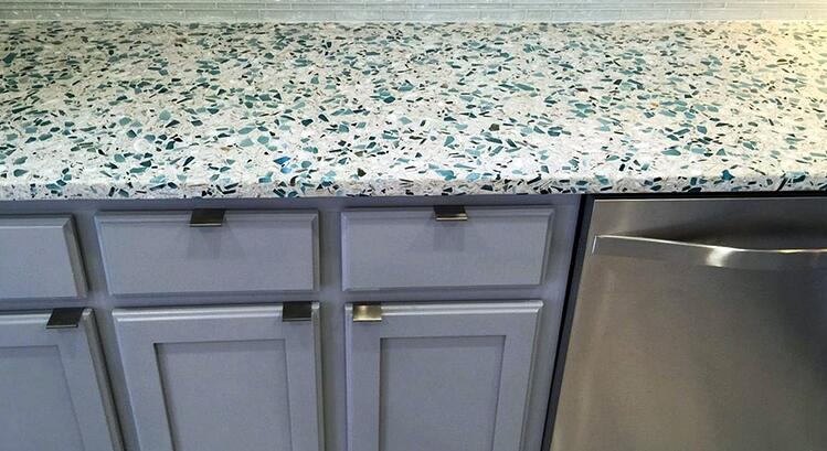 2016 Year In Review 10 Favorite Recycled Glass Kitchens