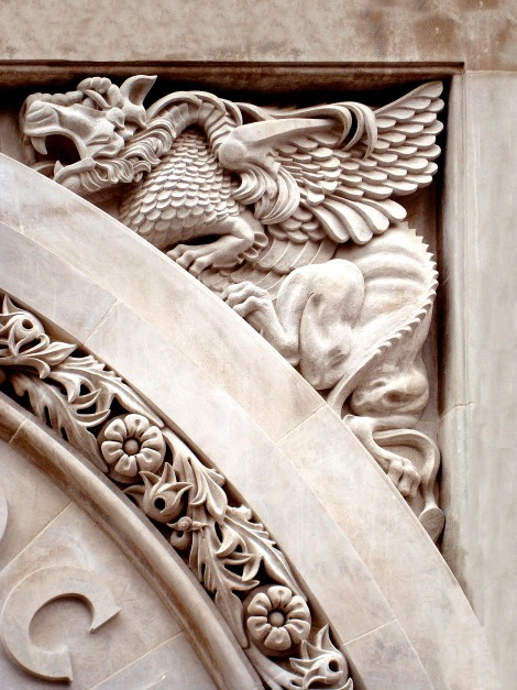 Indiana Limestone Carvings Flack Block Vancouver