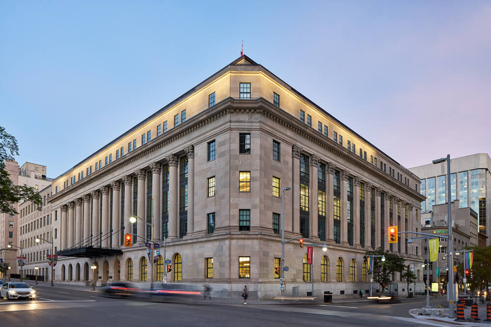 180 Wellington St. - Ottawa, ON - Indiana Limestone Polycor