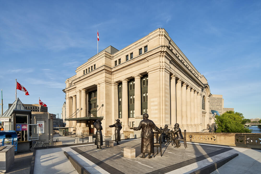 Government Conference Center - Ottawa, ON - Indiana Limestone Polycor 06