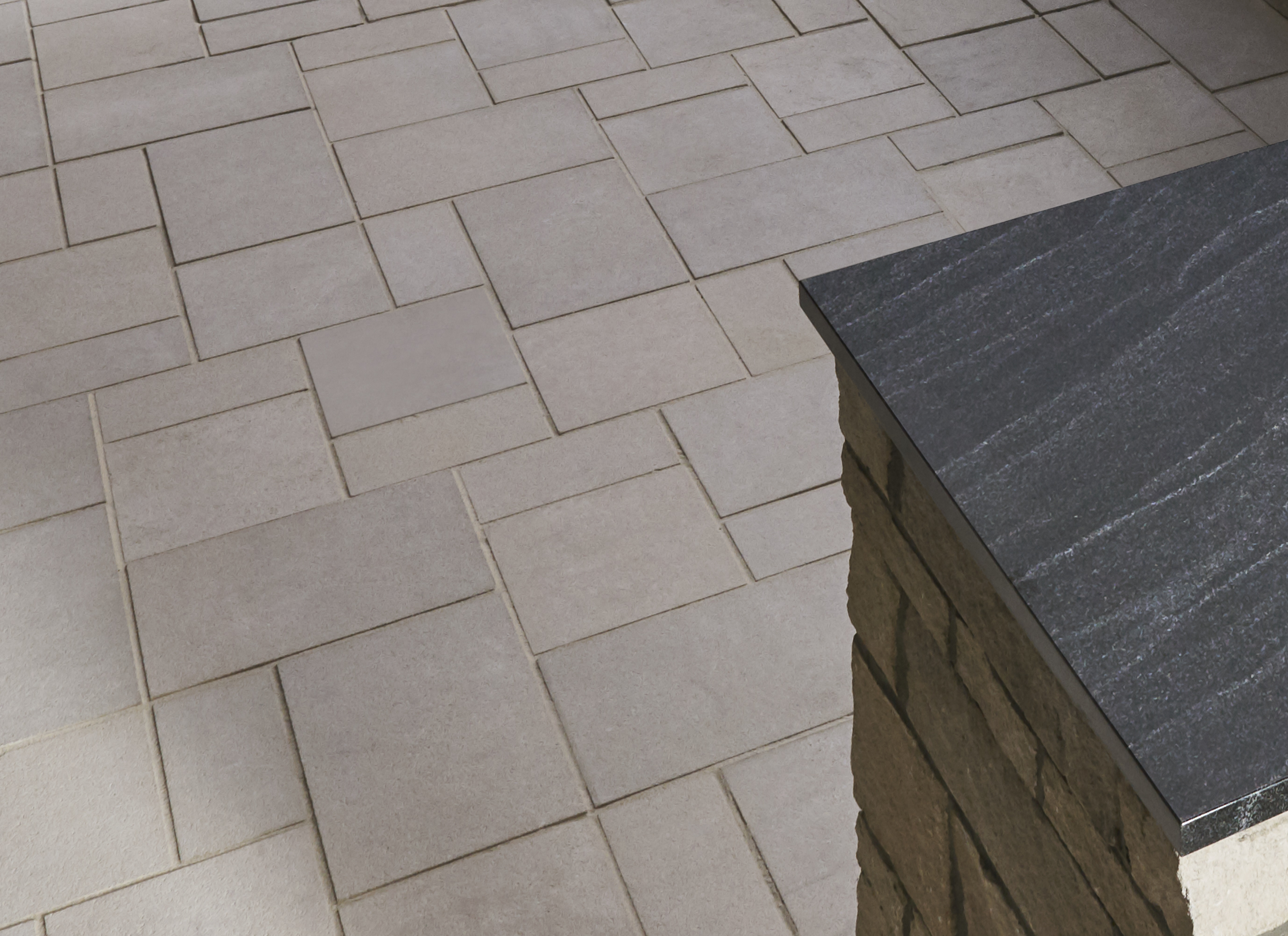 Indiana Limestone Full Color Blend pavers